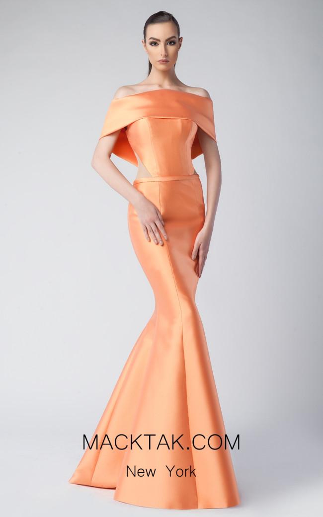 Edward Arsouni FW0246 Clementine Front Dress