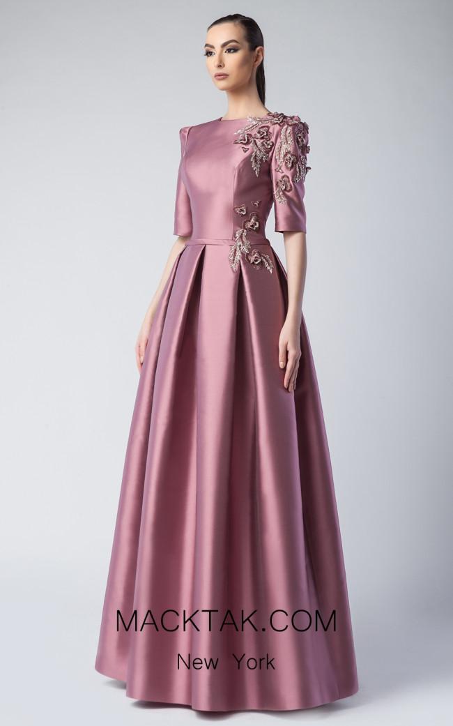 Edward Arsouni FW0250 Malve Front Dress