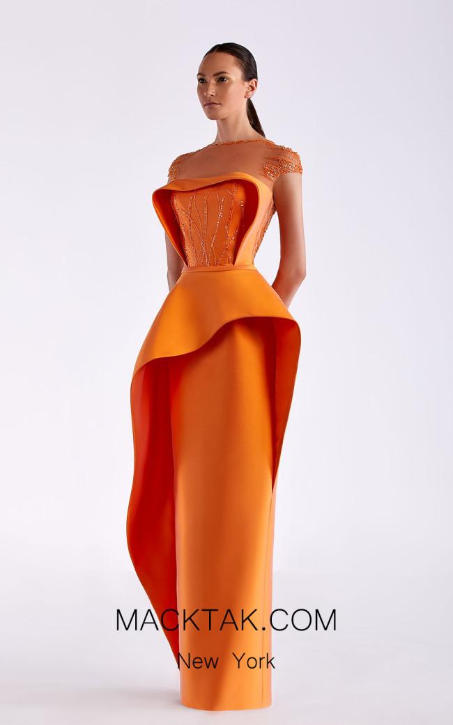 Edward Arsouni SS0483 Zucca Front Dress