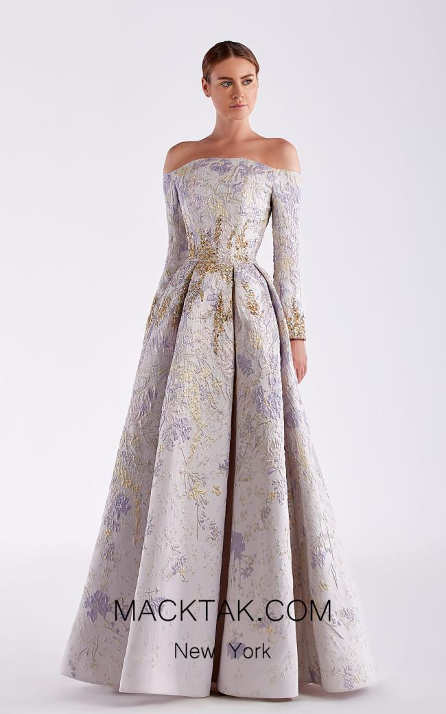 Edward Arsouni SS0504 Lilac Front Dress