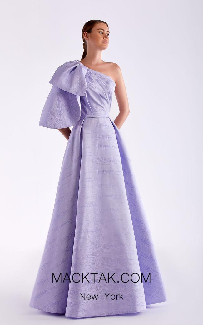 Edward Arsouni SS0506 Lavender Front Dress