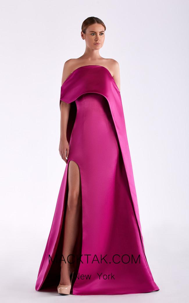 Edward Arsouni SS0512 Violet Front Dress