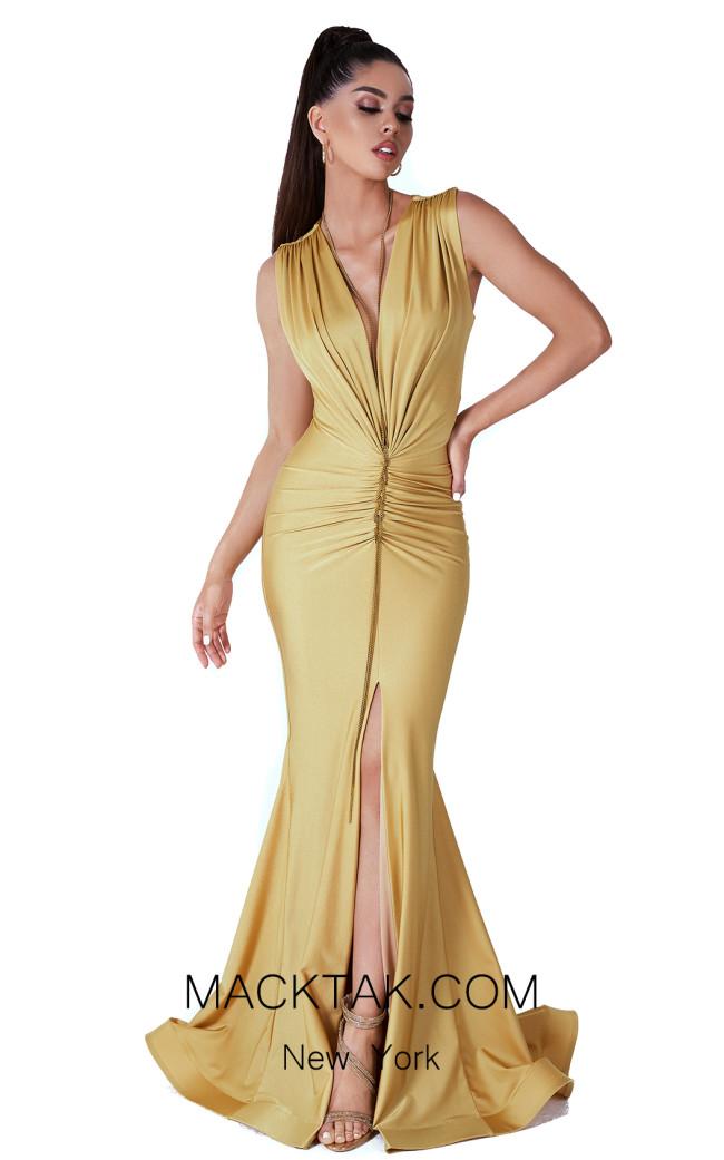 Evaje 10029 Dijon Front Dress
