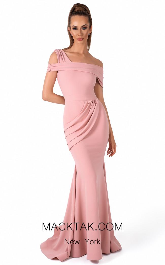 Evaje 10066 Rose Front Dress