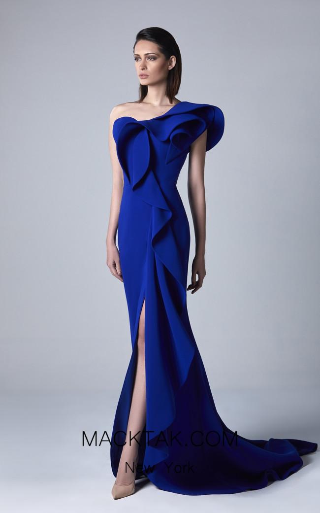 Edward Arsouni 0394 Front Evening Dress