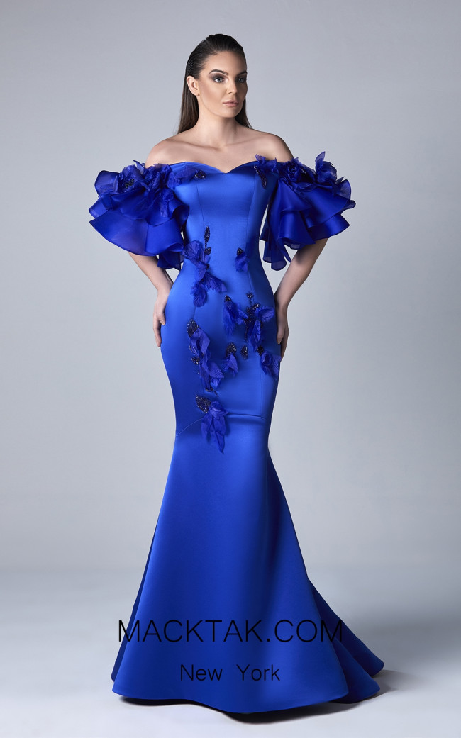 Edward Arsouni 0398 Front Evening Dress