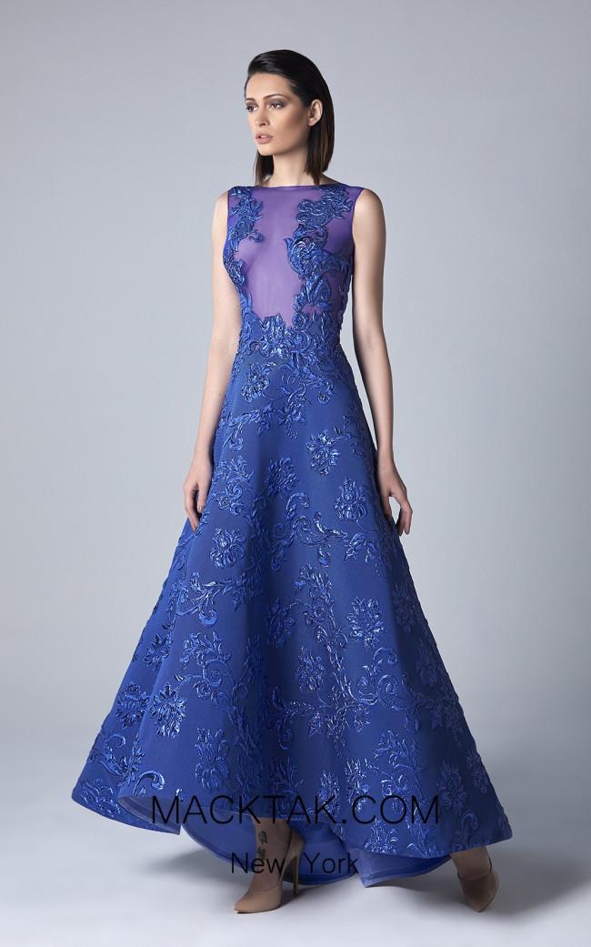 Edward Arsouni 0399 Front Evening Dress