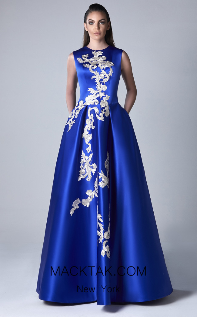 Edward Arsouni 0400 Front Evening Dress