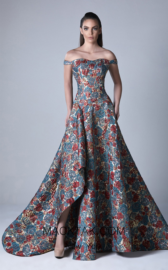 Edward Arsouni 0404 Front Evening Dress
