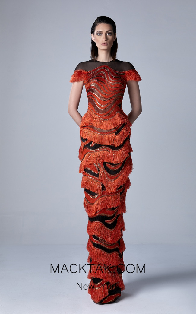 Edward Arsouni 0407 Front Evening Dress