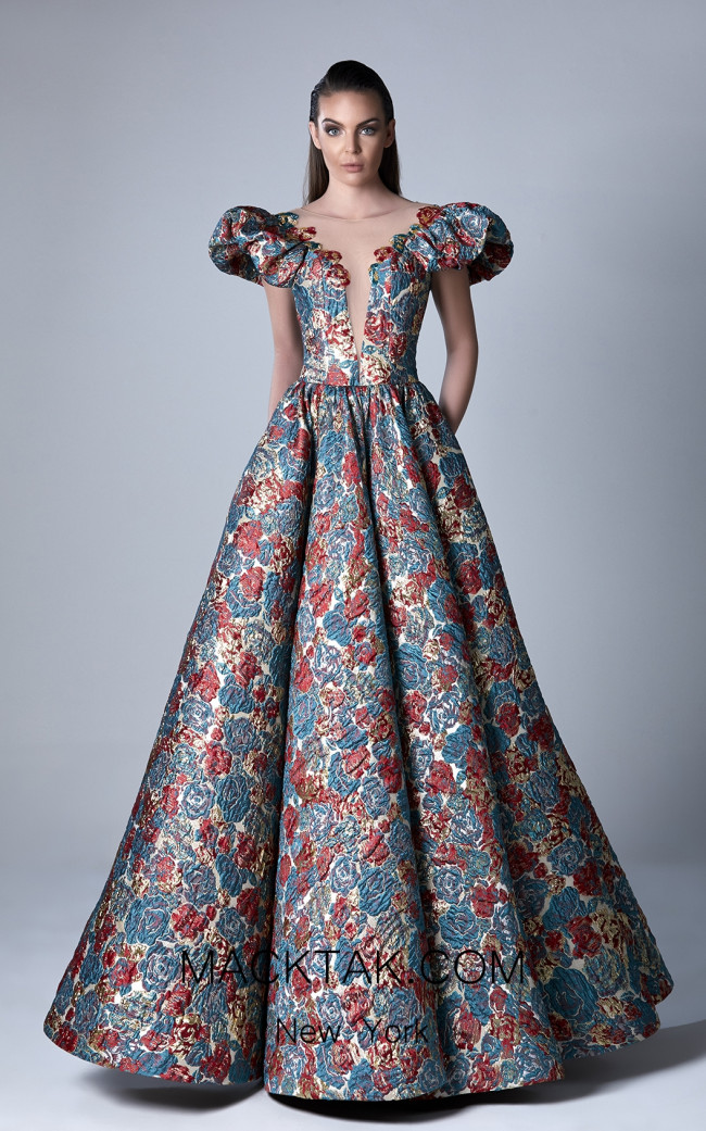 Edward Arsouni 0408 Front Evening Dress