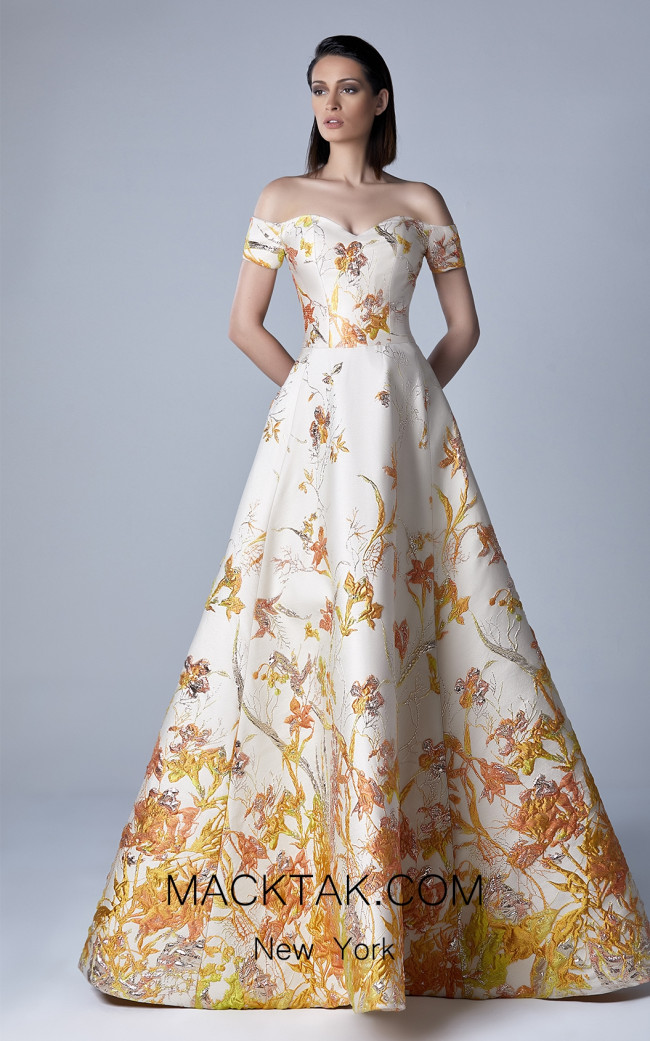 Edward Arsouni 0411 Front Evening Dress