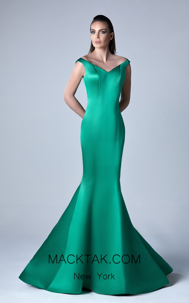 Edward Arsouni 0413 Front Evening Dress