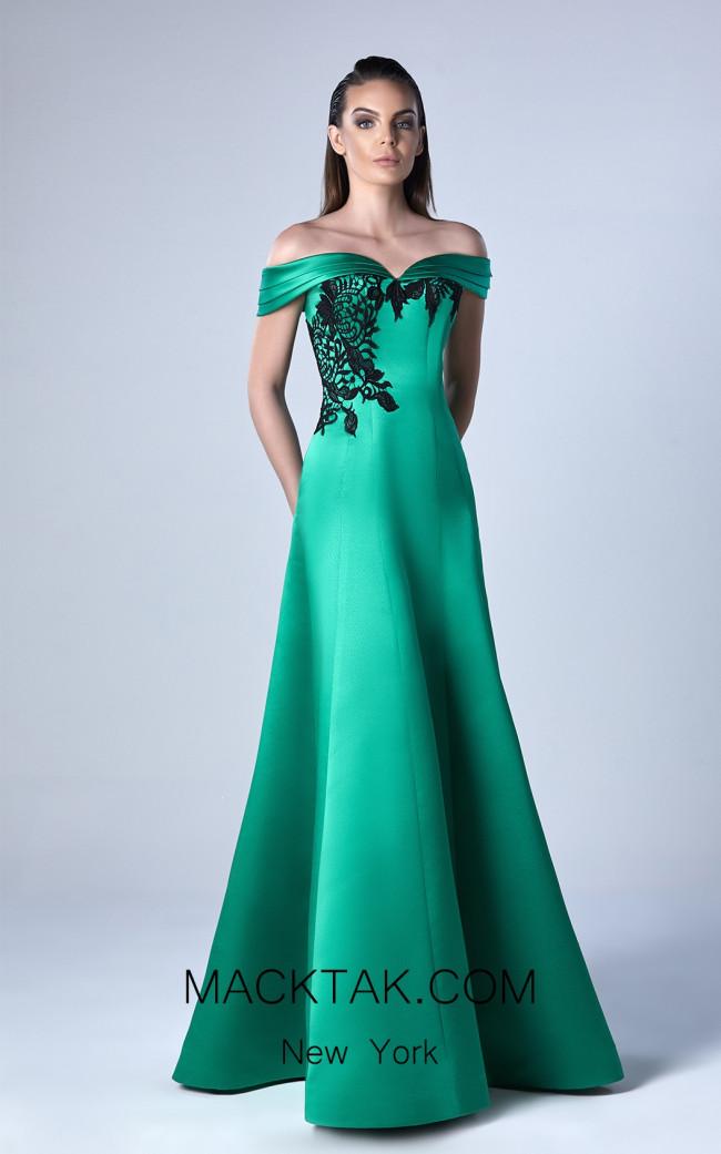 Edward Arsouni 0415 Front Evening Dress