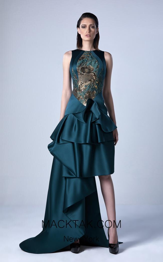 Edward Arsouni 0418 Front Evening Dress