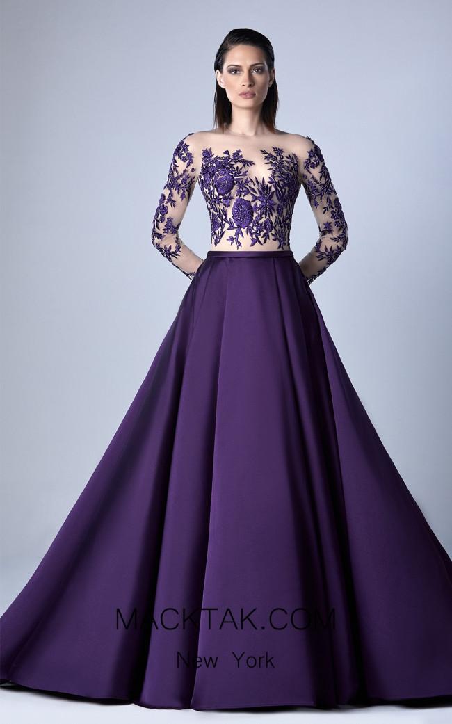 Edward Arsouni 0420 Front Evening Dress