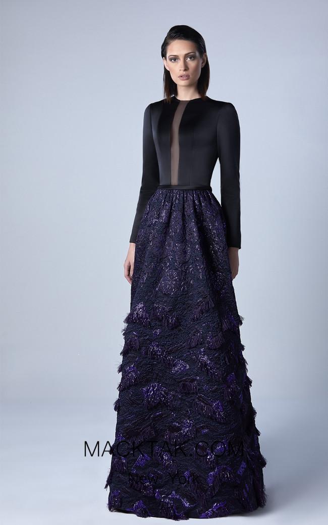 Edward Arsouni 0422 Front Evening Dress
