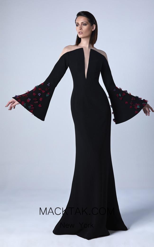 Edward Arsouni 0424 Front Evening Dress