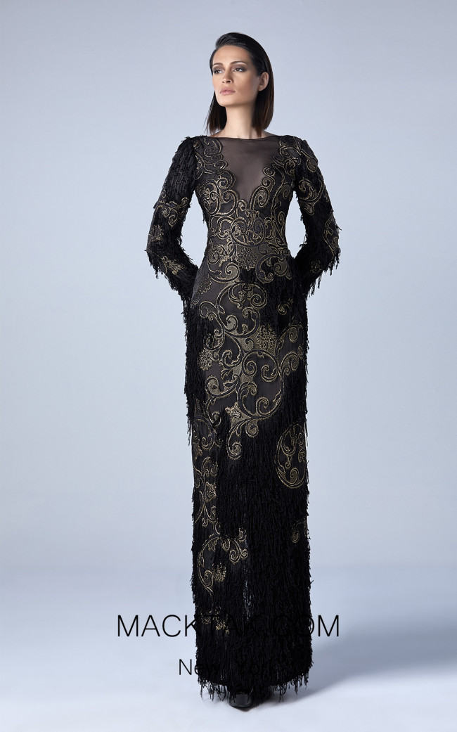 Edward Arsouni 0429 Front Evening Dress