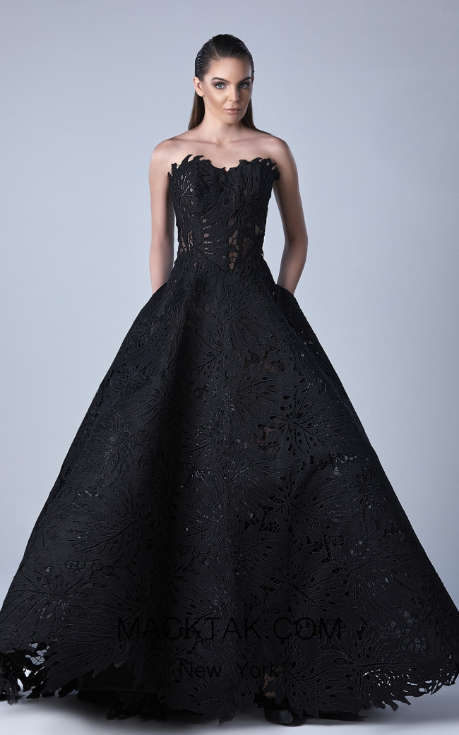 Edward Arsouni 0430 Front Evening Dress