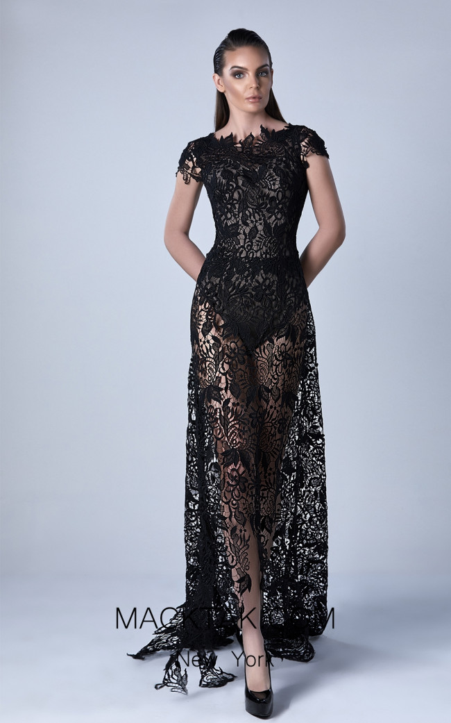 Edward Arsouni 0432 Front Evening Dress