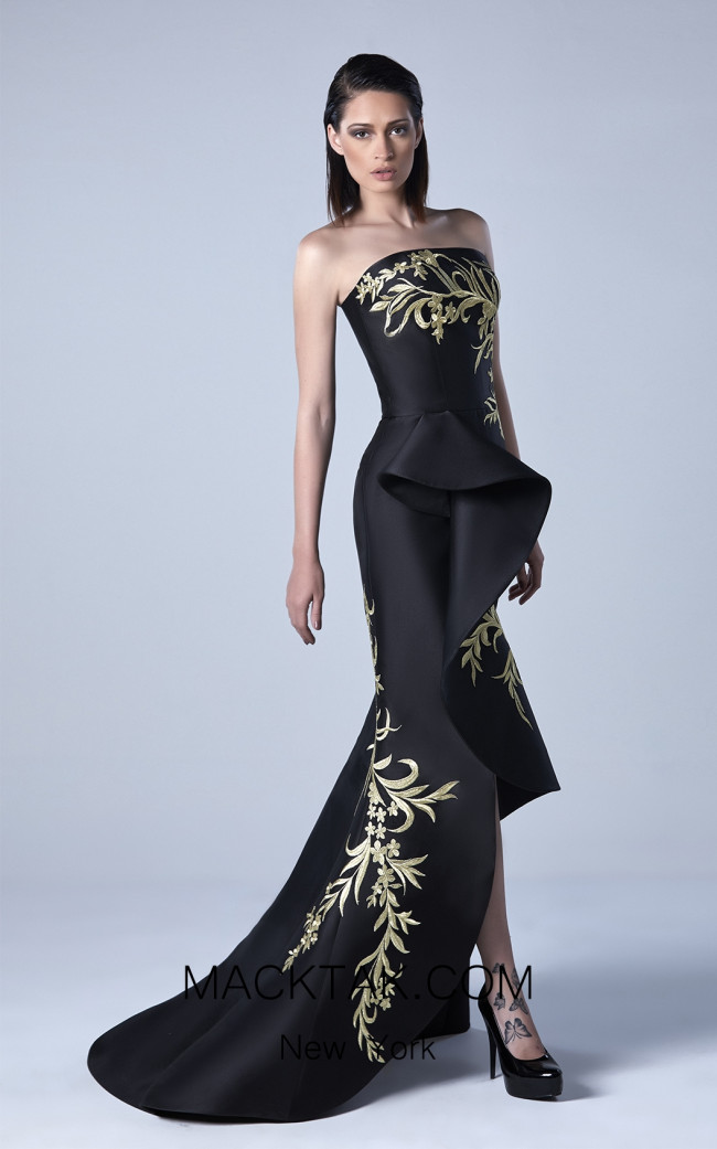 Edward Arsouni 0433 Front Evening Dress