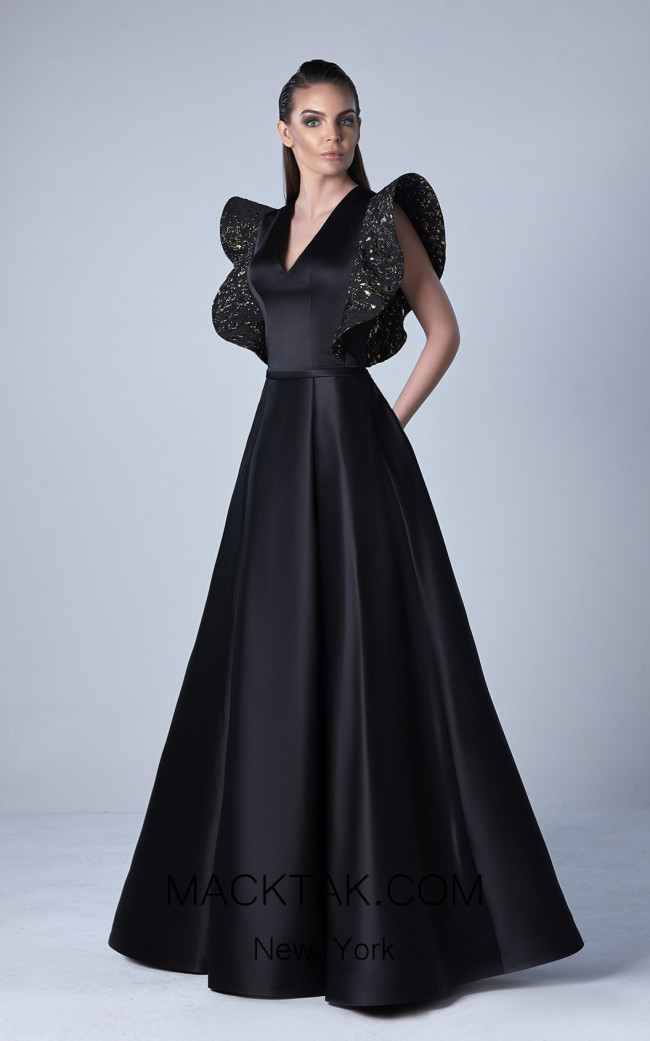 Edward Arsouni 0434 Front Evening Dress