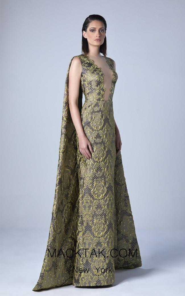 Edward Arsouni 0435 Front Evening Dress