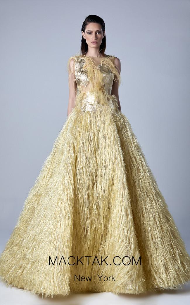 Edward Arsouni 0437 Front Evening Dress