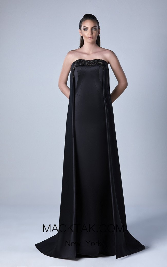 Edward Arsouni 0438 Front Evening Dress
