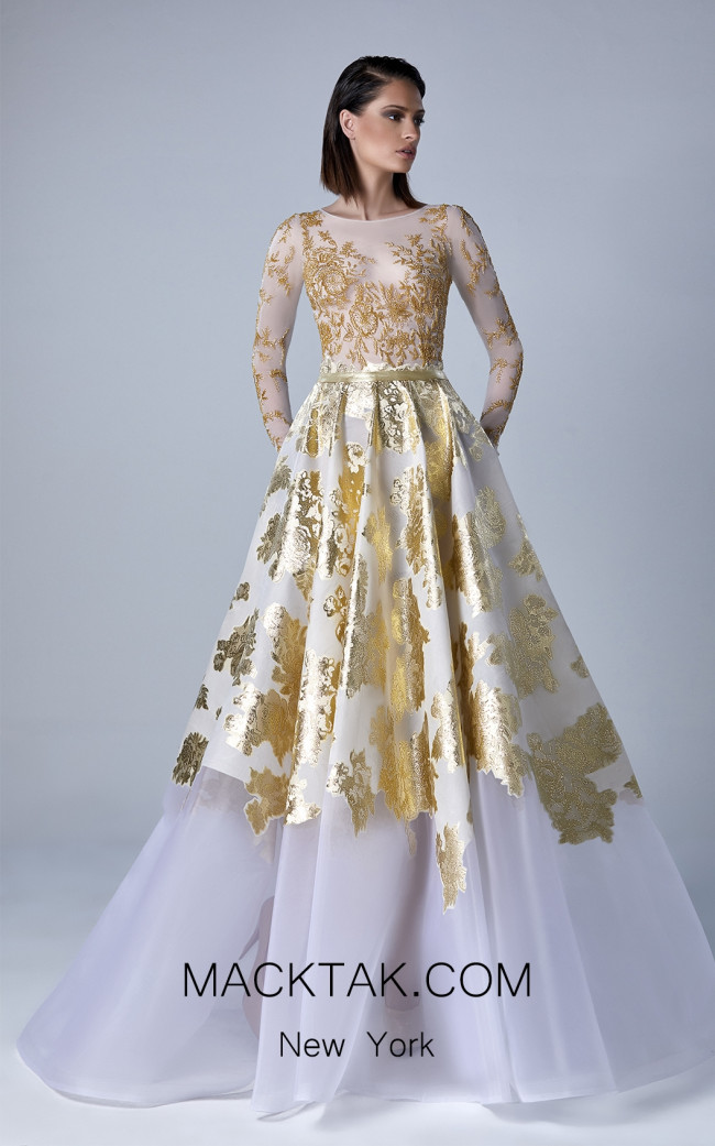 Edward Arsouni 0439 Front Evening Dress
