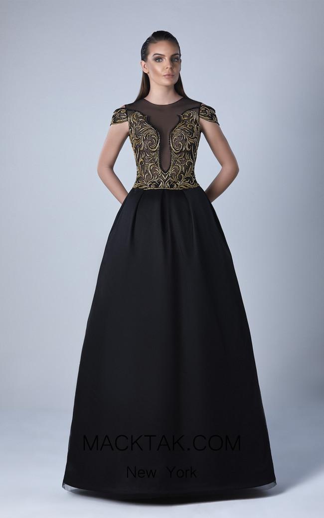 Edward Arsouni 0442 Front Evening Dress