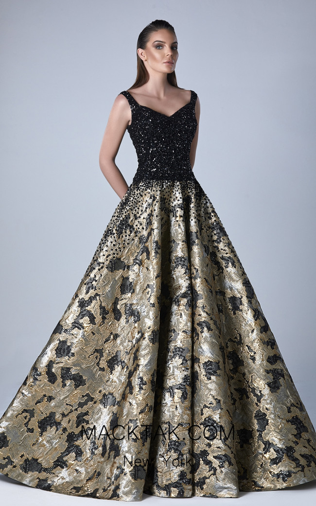Edward Arsouni 0443 Front Evening Dress