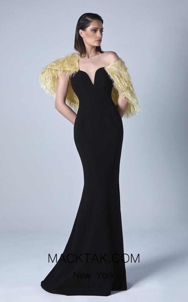 Edward Arsouni 0444 Front Evening Dress