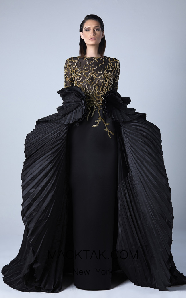 Edward Arsouni 0448 Front Evening Dress