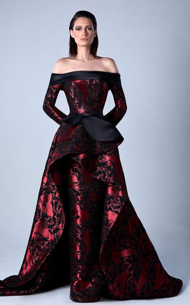 Edward Arsouni 0450 Front Evening Dress