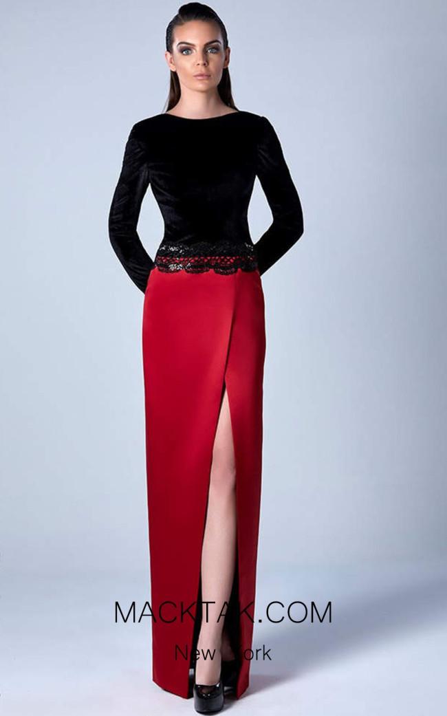 Edward Arsouni 0453 Front Evening Dress