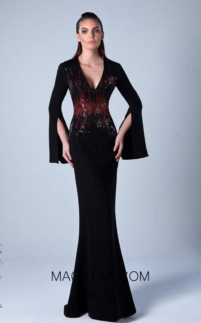 Edward Arsouni 0455 Front Evening Dress
