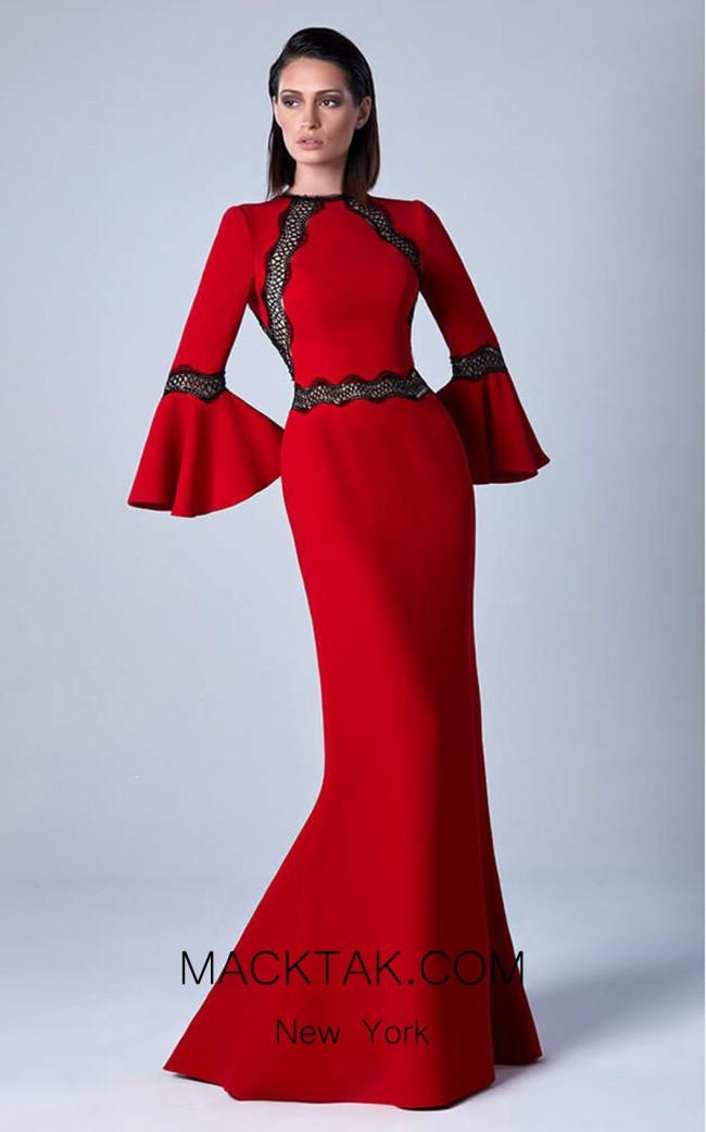 Edward Arsouni 0456 Front Evening Dress