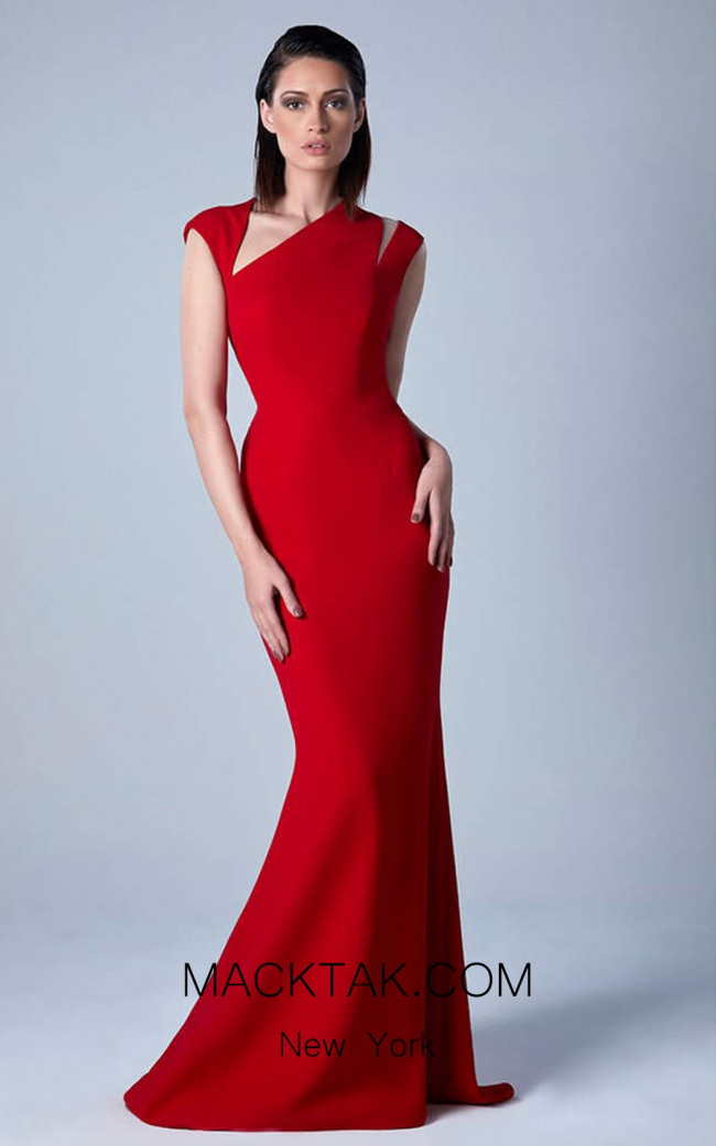 Edward Arsouni 0458 Front Evening Dress
