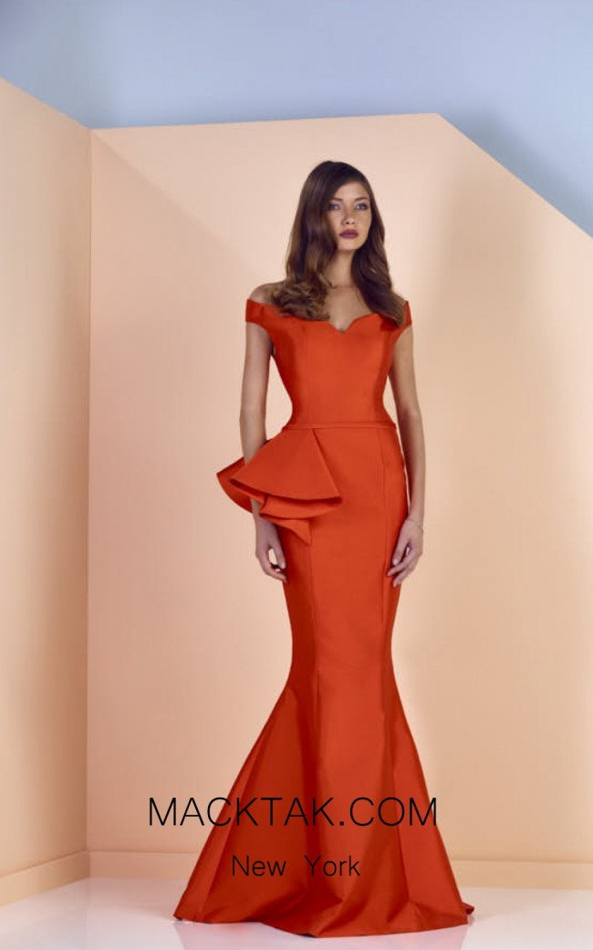 Edward Arsouni SS0119 Front Evening Dress