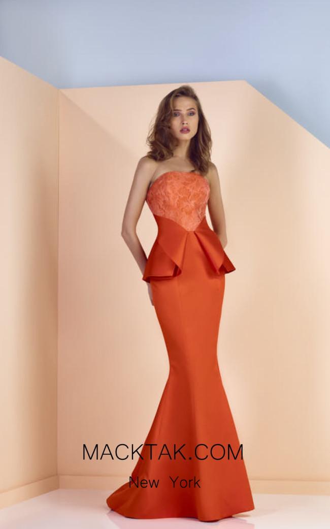 Edward Arsouni SS0120 Front Evening Dress