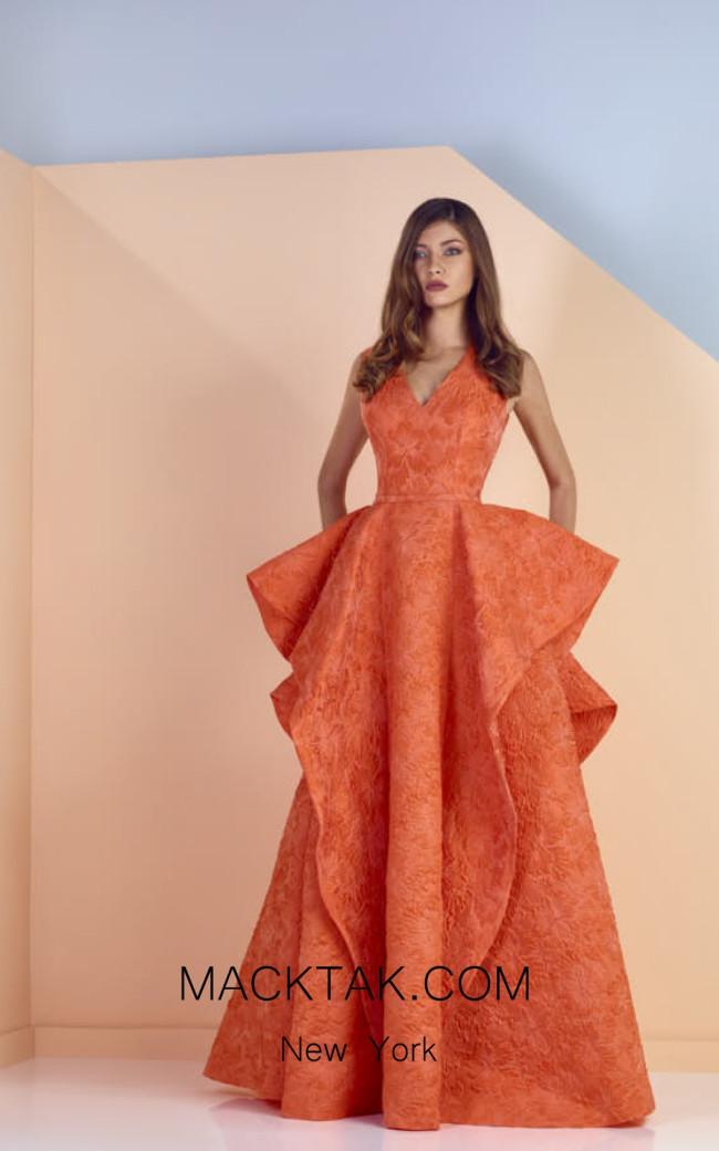 Edward Arsouni SS0121 Front Evening Dress