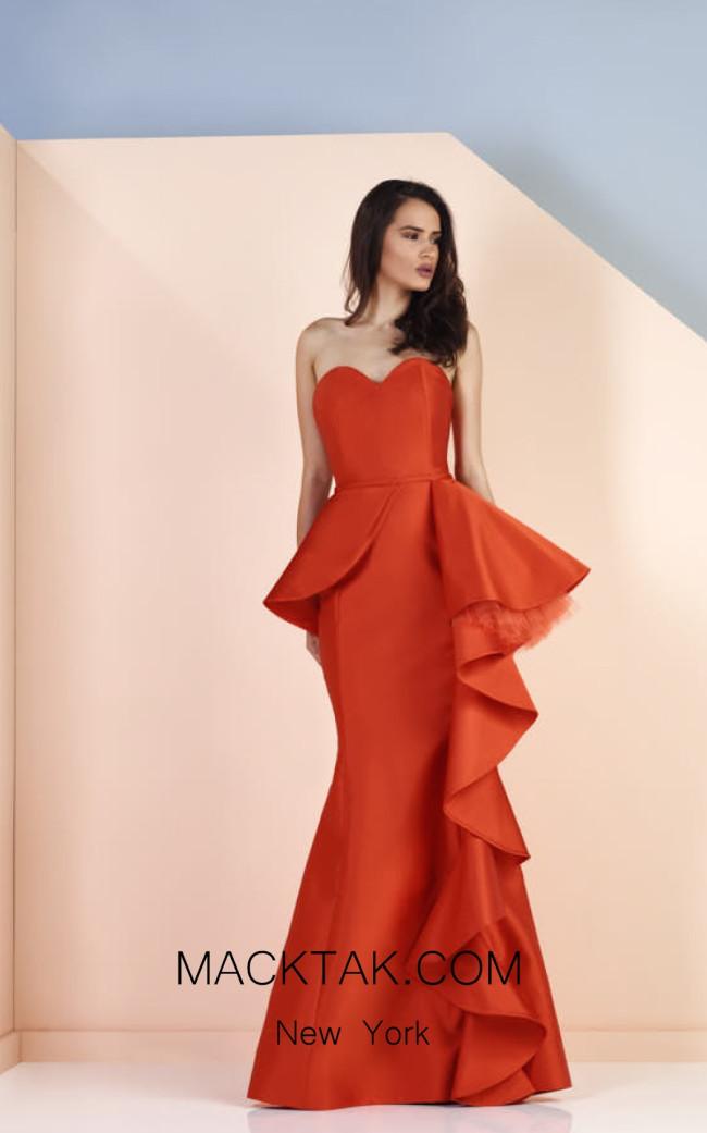 Edward Arsouni SS0122 Front Evening Dress