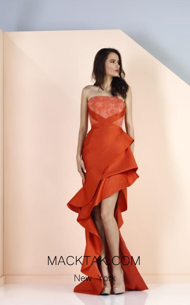 Edward Arsouni SS0123 Front Evening Dress