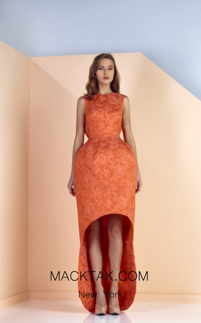 Edward Arsouni SS0124 Front Evening Dress