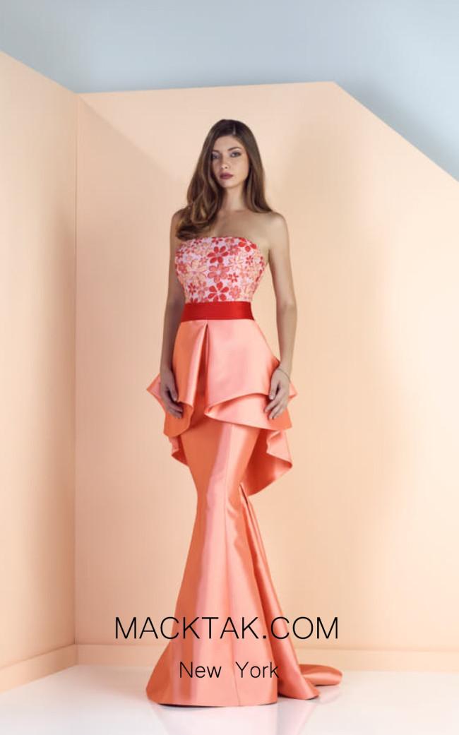 Edward Arsouni SS0127 Front Evening Dress