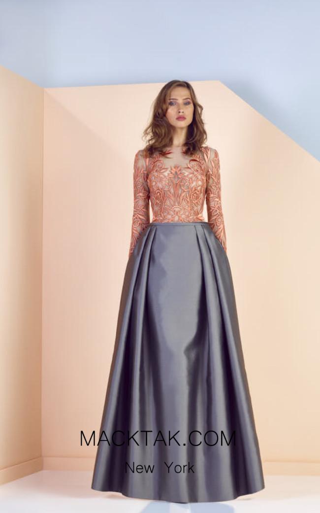 Edward Arsouni SS0130 Front Evening Dress