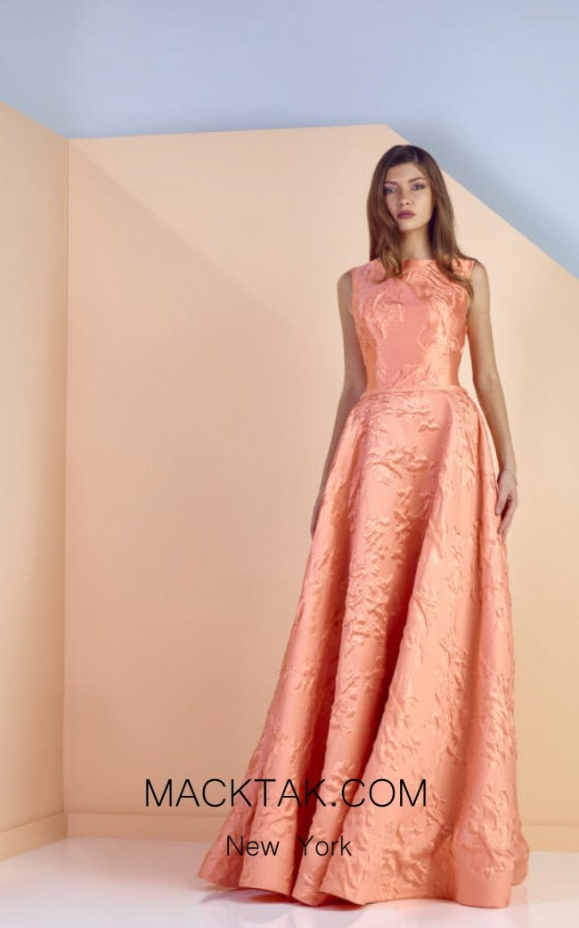 Edward Arsouni SS0131 Front Evening Dress