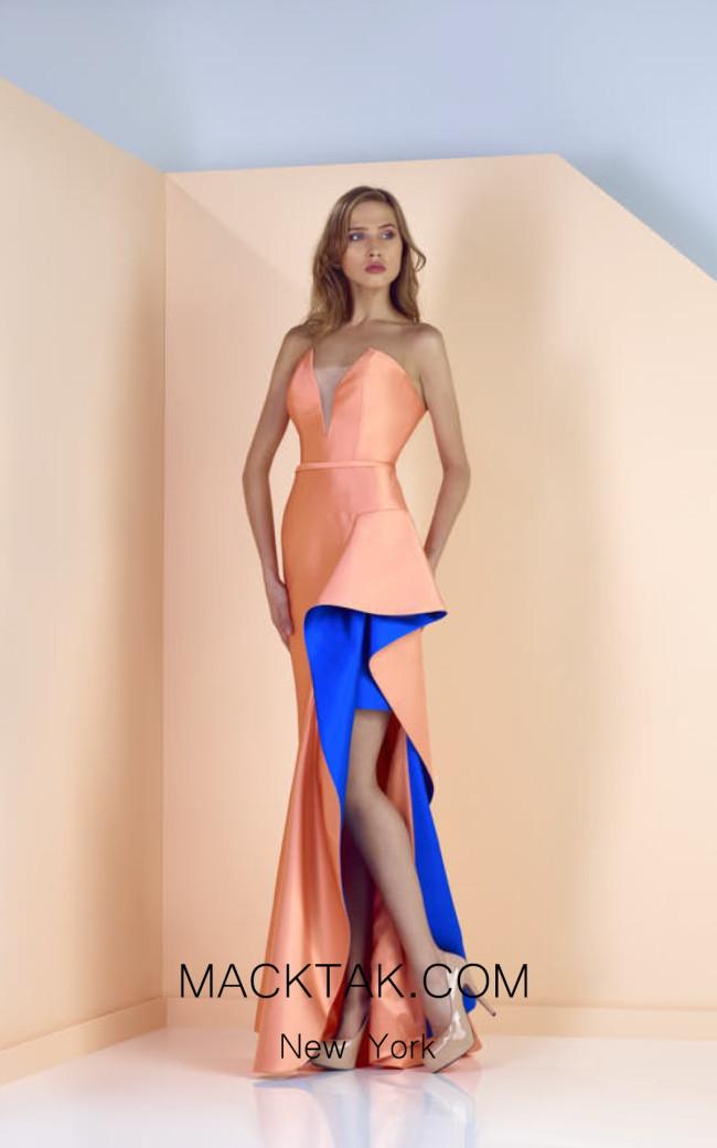 Edward Arsouni SS0132 Front Evening Dress